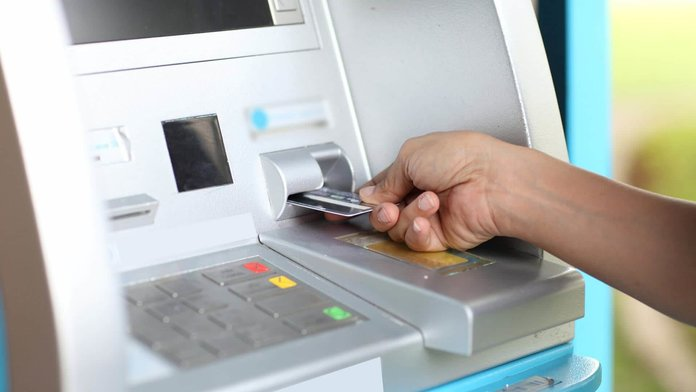 Снятие денег с карточки