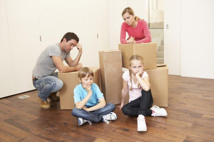 Семья выселяется из служебной квартиры