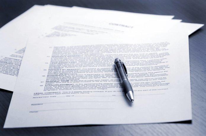 Бумаги с напечатанным протоколом