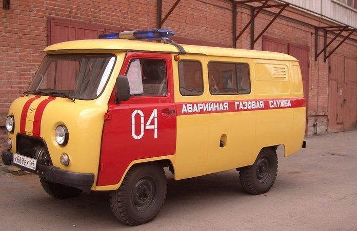 Автомобиль аварийной газовой службы