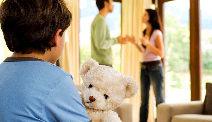 Раздел имущества при ребёнке