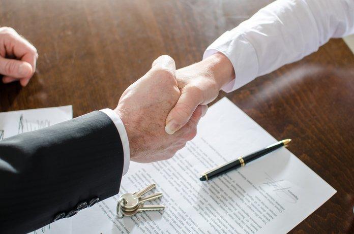 Удачное подписание договора