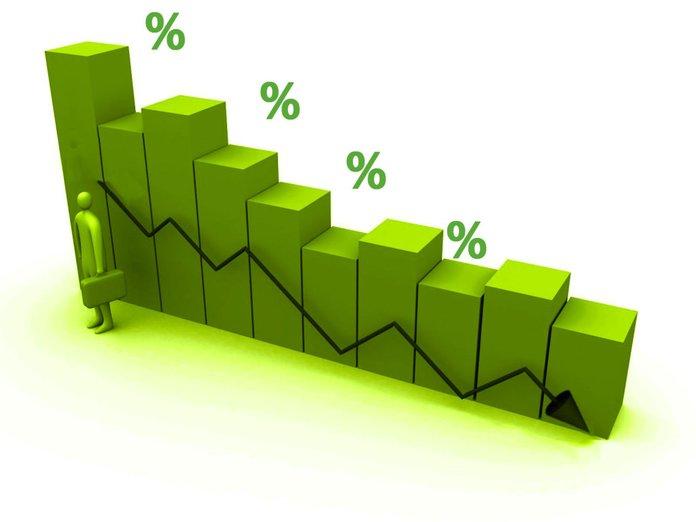Уменьшение процентной ставки