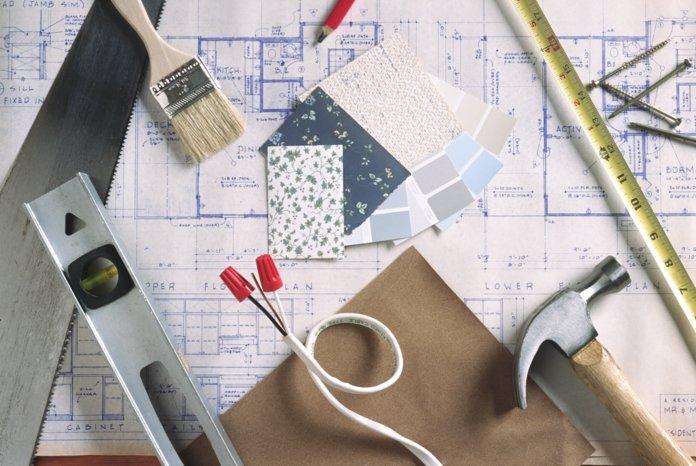 План ремонта и строительные материалы