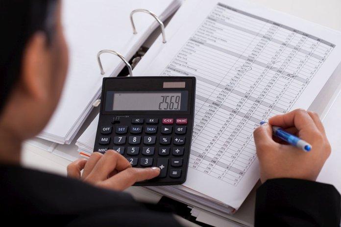 Подсчеты на калькуляторе