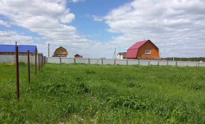 Земельный участок в сельской местности